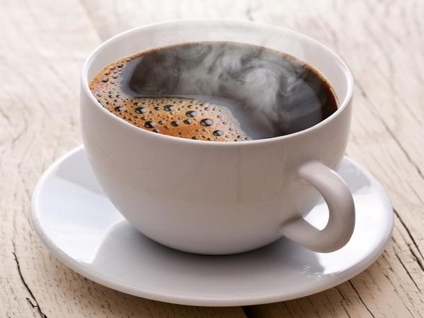 Кофе натуральный черный, со сливками