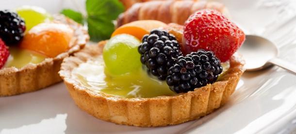 Корзиночка с фруктами