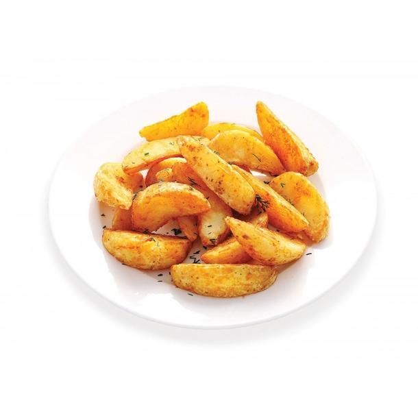 Картофельные дольки печеные в специях