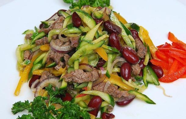 Овощной с мясом