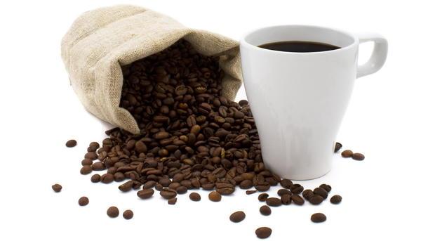 Кофе черный со сливками