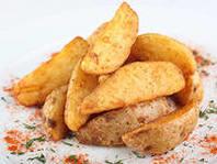 Дольки картофеля, запеченные по-деревенски